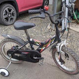 ★現状渡し★14インチ補助輪付き自転車