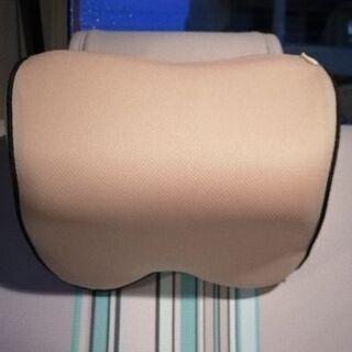 車用クッション低反発ネックピロー:カバー付き(洗濯可)