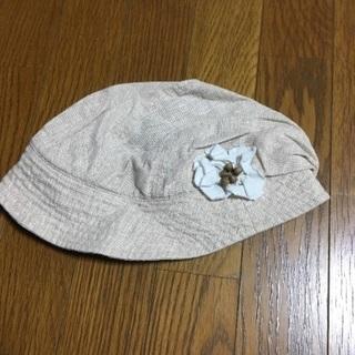 ベージュオシャレ帽子👒
