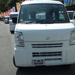 軽バン専門店在庫50台 エブリィ 平成26年 車検2年付 23万...