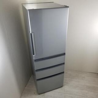 中古 店舗近郊送料格安 355L 4ドア冷蔵庫 ハイアール アク...