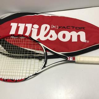 【Wilson】ウイルソン テニスラケット [K]FACTOR ...
