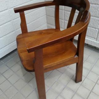 【持帰限定】ダイニング木椅子