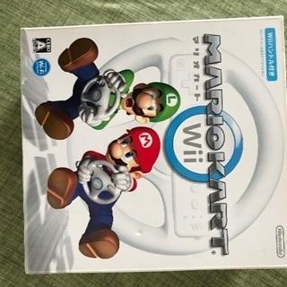 Wii本体及び付属品、ハンドルなど - 札幌市