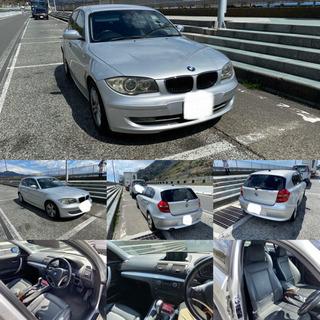 値下☆BMW 120i 本革シート 純正ナビ 車検残ってます。