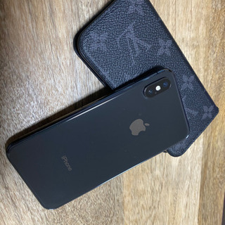 iPhone x スペースグレイ 256G SoftBank a...
