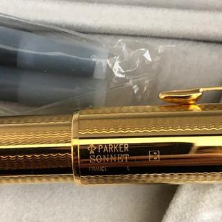 パーカーPARKER ソネット ゴールド カスケード 万年筆 18K