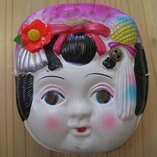 昭和レトロ★懐かしい1950年代(昭和30年代)セルロイド製お面...