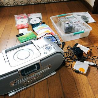 【引渡し済】 MDLP パーソナルMDシステム CDカセットMD