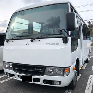 H29年 三菱FUSO ローザバス 29人乗り!