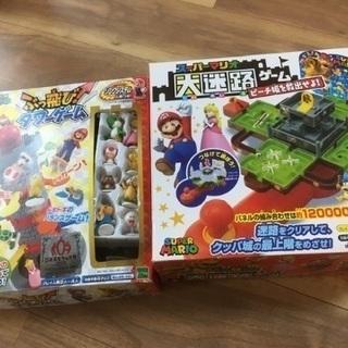 スーパーマリオ おもちゃ2種類