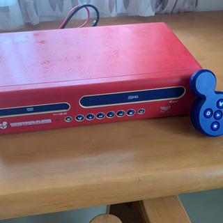 ディズニー DVDプレーヤー&VHSビデオプレーヤー&レコーダー