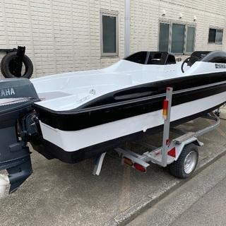 値下げヤマハSRVボート船外機2スト70ps - 福井市