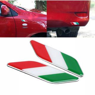 新品 アルファロメオ フィアット イタリア国旗 エンプレム