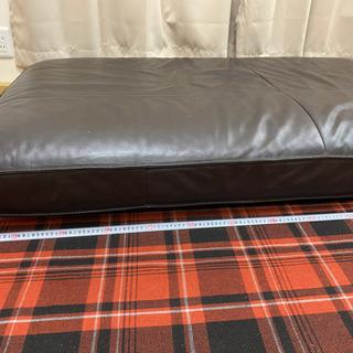 IKEA 本革ソファークッション 140㎝✖️91㎝