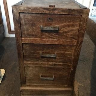 3段収納木製の入れ物