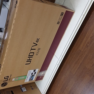 【中古】LG 4K対応 43V液晶テレビ 43UJ6100