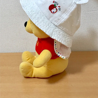 【美品】ベビー帽子 クマ耳 - 江戸川区
