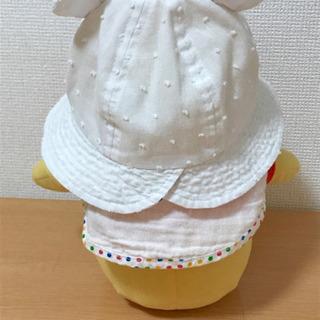 【美品】ベビー帽子 クマ耳 - 子供用品