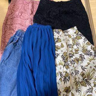 衣類④ スカート5点