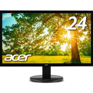 二枚セット acer ACER K242HLBID 24インチデ...