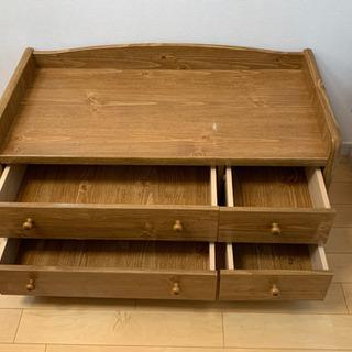 引き出し収納付きチェスト - 家具