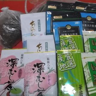 緑茶大量2,5〜3kg位 入浴剤 インフルエンザ予防のうがい用と...