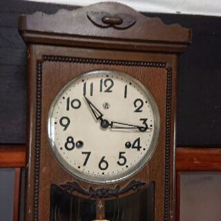 昭和レトロ掛け時計