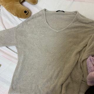 【INGNI】薄手のグレーセーターと半袖計2枚