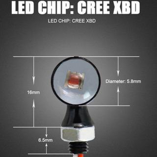 最新 汎用 ナノ led ウィンカー cree 製