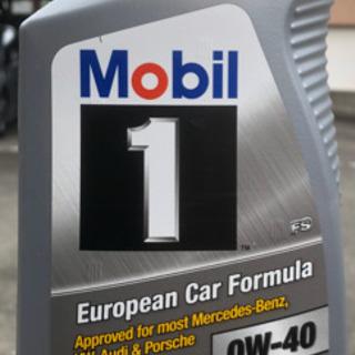 モービル1エンジンオイル 0w40  946ml×1本