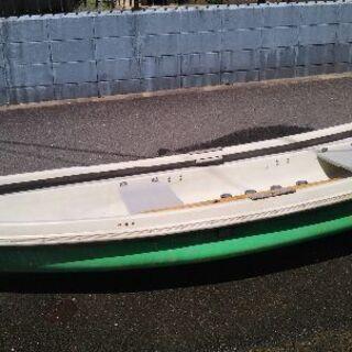 🉐2馬力FRPボート、話し早い人に売りたいです。