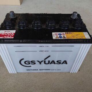 値下げ GSユアサ バッテリー 115D31R 使用6ヶ月
