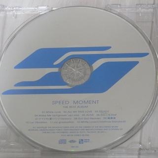 SPEED ベストアルバム 「MOMENT」 ジャンク品