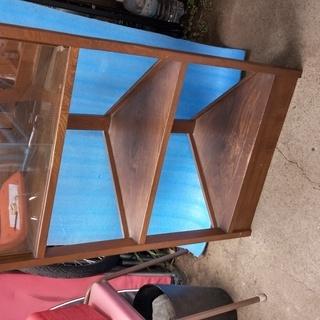 三角のコーナー棚 60年代家具