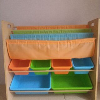 子供 本棚 おもちゃ箱