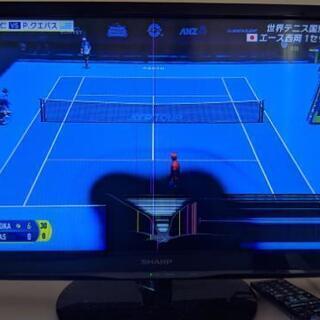 【難あり】2013年製シャープAQUOS24型液晶テレビ