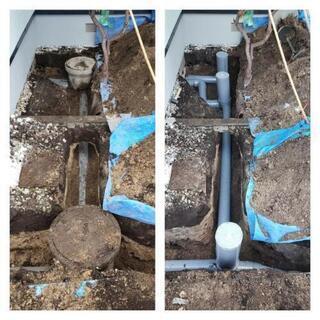 排水設備工事!!
