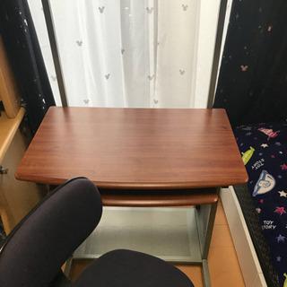 パソコン用デスク + 回転椅子 - 家具