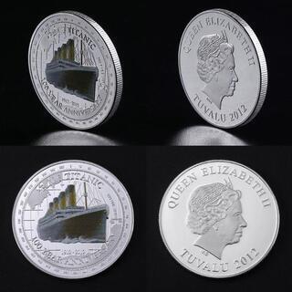 希少 タイタニック シルバーの豪華な記念コイン