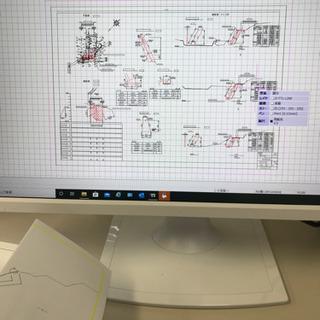 起工測量、CAD、変更書類、竣工書類作成代行します。