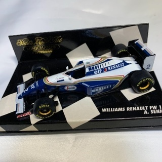 PMA ミニチャンプス Williams RENAULT FW1...