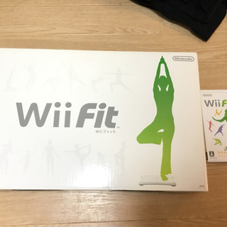 Wii fit ボード + wii fit plus