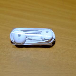 未使用PC用テレワーク音量調整ボタン付きイヤホン・マイク