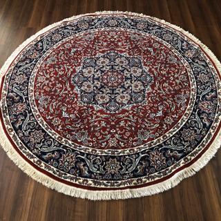イラン製 ウィルトン織 アクリル 円形 250cm エスリミ