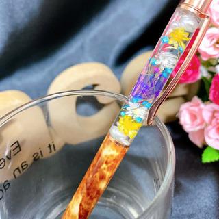 新作♡ハーバリウムボールペン