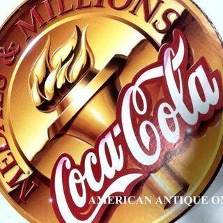 非売品 大型49cm USAコカ・コーラ メダル & ミリオンズ...