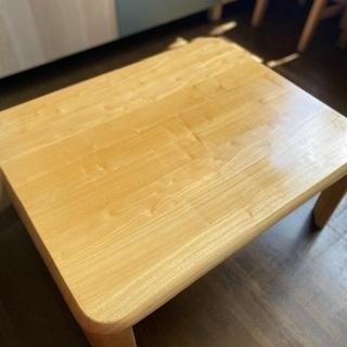 【今だけ!】楽々折りたたみテーブル 750×600の画像