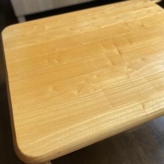 【今だけ!】楽々折りたたみテーブル 750×600 - 仙台市