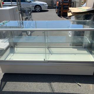 ガラスショーケース ローケース 両開き 棚1段 1800×600...